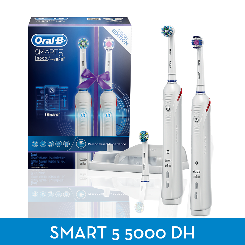 Oral B Smart 5 5000 Dual Handle Electric Rechargeable
