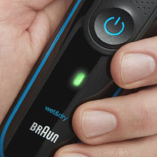 LED battery & charging indicator Never accidently run out of power with the LED battery and charging indicator.