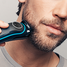 Long beard & hair clipping Maintain longer beard or hair styles with the 11 - 20mm comb. The precision dial allows you to achieve the exact desired length in 0.5mm steps.