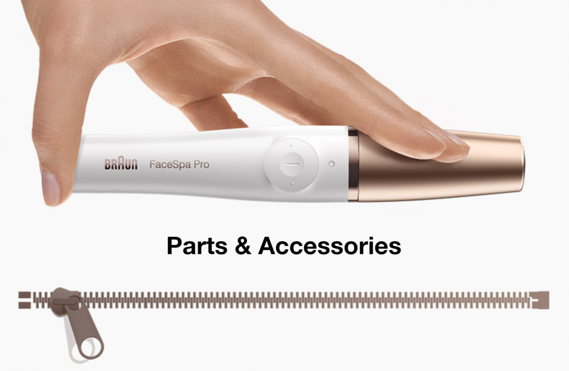 Braun Beauty Parts and accessories